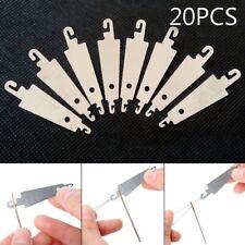 20pcs Stainless Steel Cross-stitch Threading Hook Needle Threader Stitch Craft
