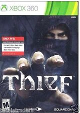 Thief Steelbook + Bank Heist DLC (Microsoft Xbox 360, 2014)   Factory Sealed