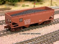 3-pack of Hay Brothers COAL #1 LOADS - Fits All Micro-Trains 33' Hopper Cars