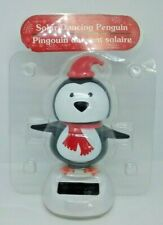 Old Stock Solar Powered Penguin Holiday Christmas