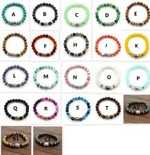 Natural Gemstone Charm Buddha Beads Bracelets Chain For Women Men Multicolor