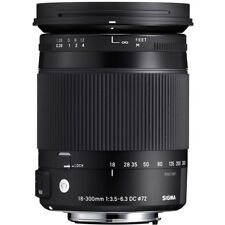 Sigma 18 300mm F3.5 6.3 DC Macro OS HSM Lens for Canon
