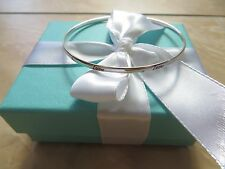 New Tiffany & Co. Paloma Picasso Sterling Red Enamel Love Bangle Bracelet.