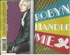 ROBYN - Handle me CD-MAXI 4TR UK RELEASE 2007 RARE!