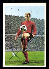 Horst Leupold 1 fc nuremberg 1968-69 Bergmann sb original firmado