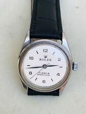 Vintage Rolex Precision 6466 17j Manual mv Men's SS Watch