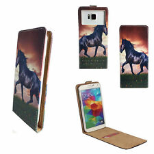 Handy Hülle | HUAWEI Ideos X3 | Flip Schutz Tasche | Flip XS Pferd