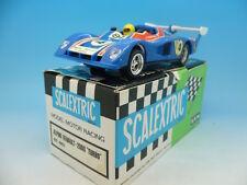 Scalextric EXIN 4053 Renault 2000 Turbo en Azul, En Caja Tienda fresco