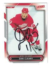 Dan Cleary AUTOGRAPH 2007-08 VICTORY HOCKEY CARD SIGNED DETROIT RED WINGS