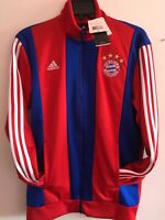 Adidas Bayern Munich 2014-15 CO Track Top Jacket Red Royal Size M Men's Only