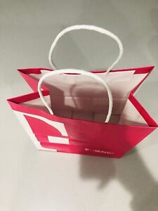 T Mobil Paper Bag Pink And White