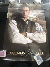 Vintage Legends of the fall Brad Pitt movie poster 1994 8450