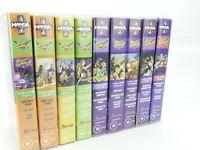 STREET FIGHTER 2 II - V. VHS Tape Anime Manga (1996). Lot of 9 Volumes.