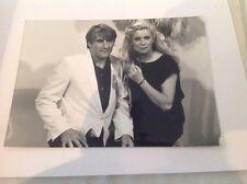 CATHERINE DENEUVE et GÉRARD DEPARDIEU - Photo de presse originale 18x13cm