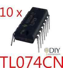 10 x TL074CN TL074 amplificatore operazionale integrato integrated circuit