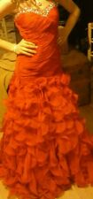 Jrs girls red jovani homecoming/prom/pageant dress