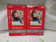 Canon Photo Paper Glossy GP-601 2 X 50 Sheets NEW