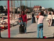 1970's Amateur Kodachrome Slides Lot Of 21 Greece Family Vacation Town Life