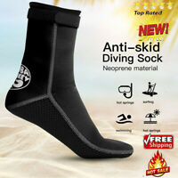 HISEA 3mm Unisex Adult Neoprene Diving Scuba Surfing Swimming Snorkeling Socks