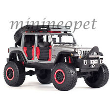 MAISTO 32523 OFF ROAD KINGS 2015 JEEP WRANGLER UNLIMITED 1/24 DIECAST GREY