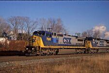 ORIGINAL FUJICHROME CSX RAILROAD  4 PACK SPECIAL DEWITT- UTICA -SYRACUSE #2