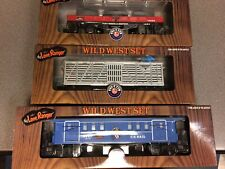 Lionel 3 pc Wild West Rolling Stock Set 26610 35191 37007 New in Boxes!