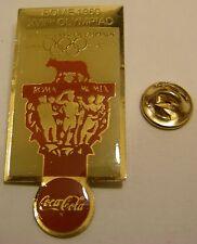 Pins coca cola Olympics ROME 1960 XVIIth OLYMPIAD