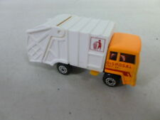 Matchbox Refuse Truck Dark Orange/Gray MB36 with box