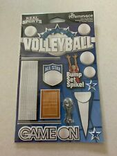 Brand New Volleyball Die Cut Stickers ~ Real Sports by Reminisce - 14 Pieces