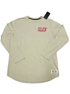 Men's Project Rock Long Sleeve Iron Paradise Outlaw T Shirt All Sizes In Hand