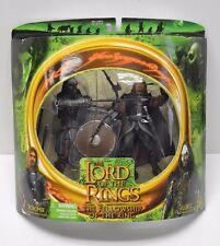 Toy Biz 2001 Lord of the Rings Boromir Lurtz w Bow Action Figure 2 Pack  NIP