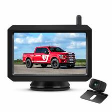 """Auto-Vox W7 Wireless Car Rear View System 5"""" LCD Monitor + Backup Camera Kit"""