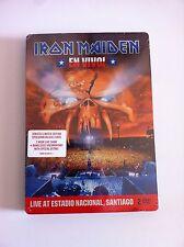 IRON MAIDEN - EN VIVO ! STEELBOOK Caja Metalica - 2 X DVD Nuevo - AM
