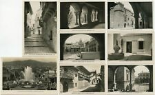 More details for  exhibition 1929 barcelona international 8 cards real photo