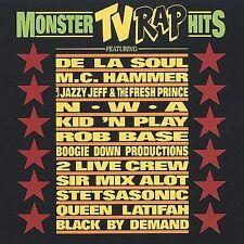 VA--MONSTER TV RAP HITS--CD--Rob Base, De La Soul, Boogie Down Productions, NWA