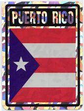 PUERTO RICO - FOIL STICKER