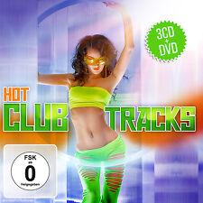 CD DVD Hot Club Tracks von Varios Artistas 3cds y DVD Conjunto