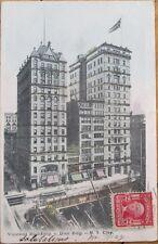 1905 Postcard: Vincent & Dun Buildings, Fay Sholes Typewritter-New York City, NY