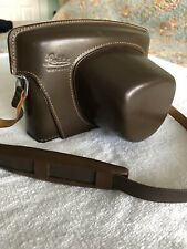 Leica Camera Case , Genuine, Leather, Brown - vintage, EUC