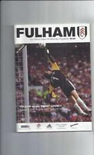Fulham Premiership Home Teams F-K Football Programmes