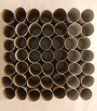 100 Empty Toilet Paper Rolls Tubes Cardboard Cores Kids Crafts Art Supplies