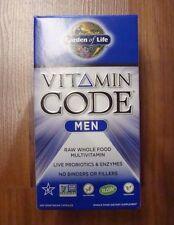 Garden of Life Vitamin Code Men's Formula 240 Capsules