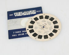 VIEW-MASTER REEL IN ORIGINAL SLEEVE - CORSICA, FRANCE PHOTOGRAPHS