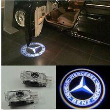 2 LED door courtesy laser projector light Mercedes Benz W203 C Class SLK CLK SLR