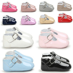 Baby Girls Princess Soft Crib Sole Shoes Toddler Sneakers Casual Flats Prewalker