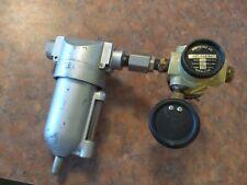 Air Compressor Filter Regulator Gauge Dayton Speedaire 4z348 High Pressure Psi
