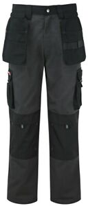 TuffStuff 700 Extreme Work Trouser with Knee Pad Pockets {Grey/Black}