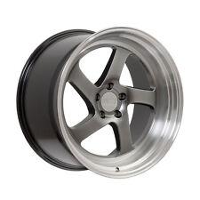 18X9.5 +38 F1R F28 5X114.3 HYPER BLACK Wheel Fit ACURA RSX TSX TL TLX ILX STANCE