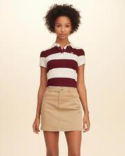 HOLLISTER Rugby Stripe Slim Polo Medium **Brand New w/ Tag**