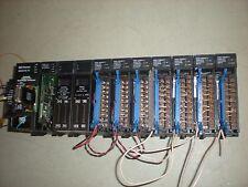 GE Fanuc Model 90-30 PLC on 10-Slot Base with (10) Modules